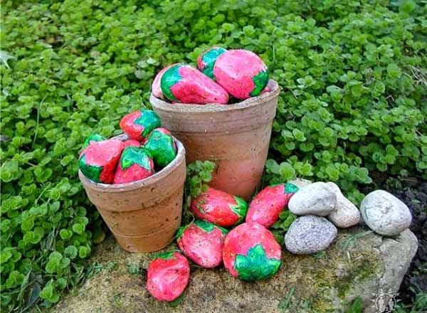 Ιδέες Διακόσμησης κήπου με βράχια και πέτρες16
