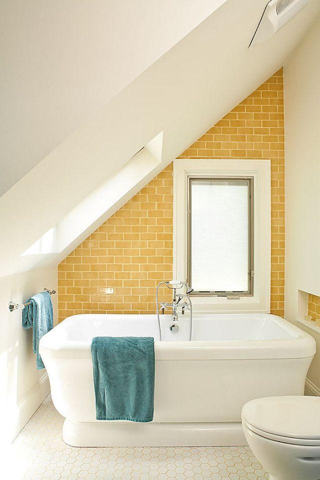 Μπάνια με τη ζεστή δελεαστική ομορφιά του Κίτρινου15