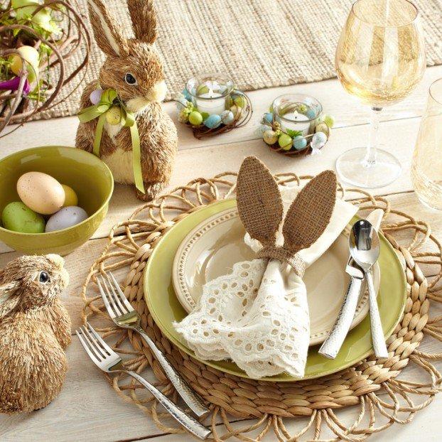 ιδέες Διακόσμησης για το Πασχαλινό τραπέζι 1
