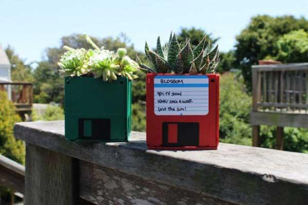 DIY Γλάστρες Κήπου10