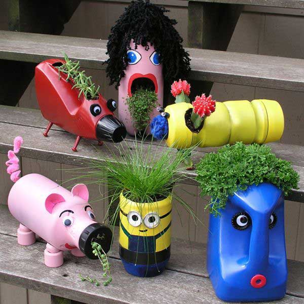 DIY Γλάστρες Κήπου20