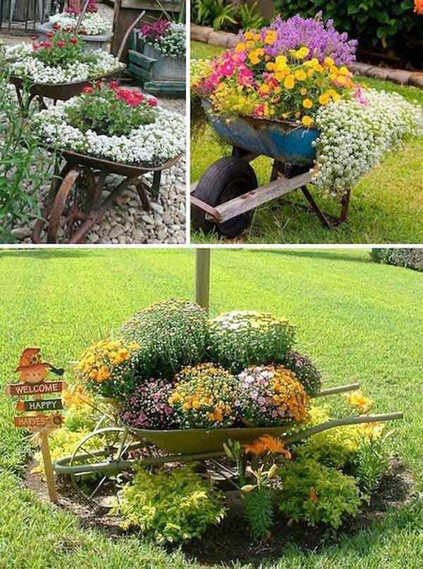 DIY Γλάστρες Κήπου22