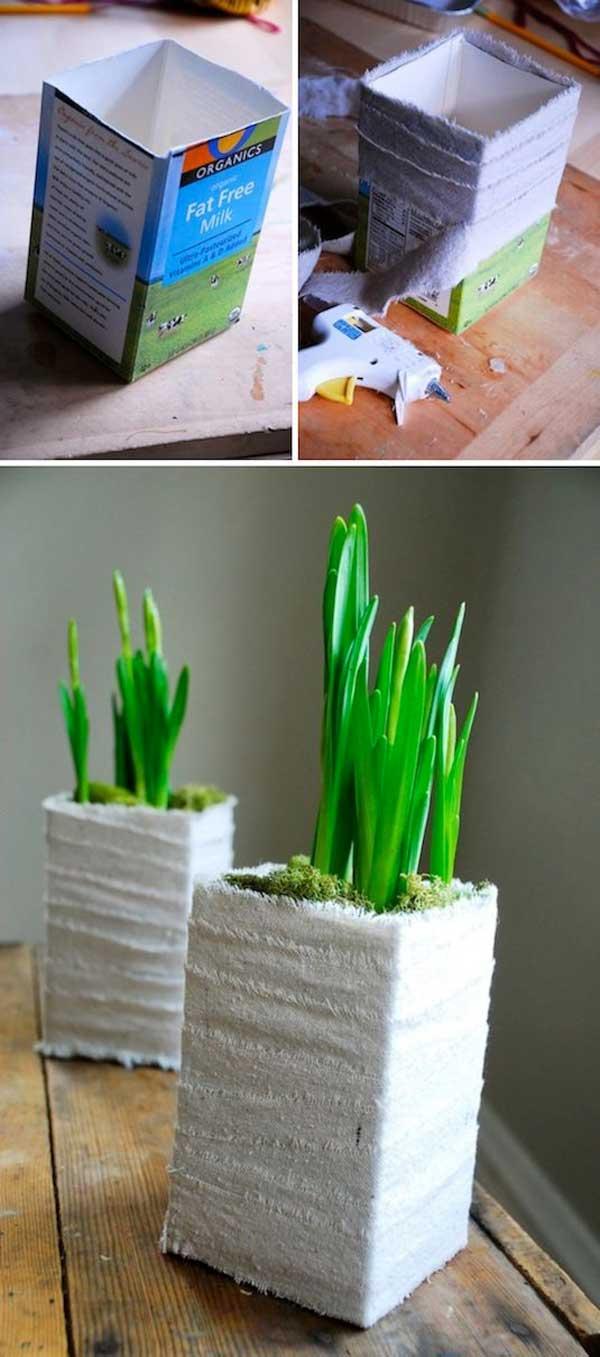 DIY Γλάστρες Κήπου28