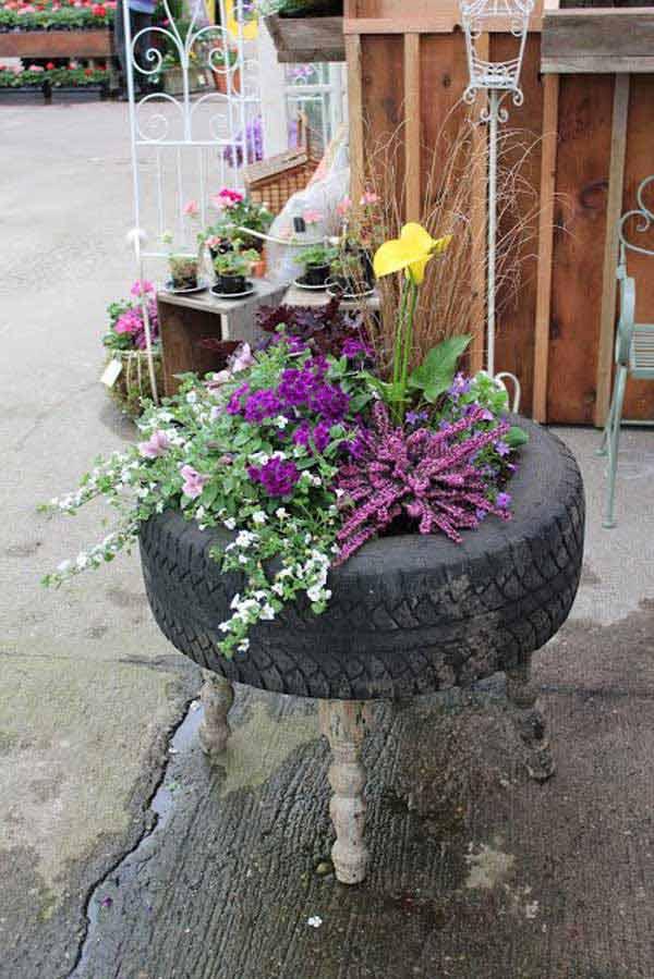 DIY Γλάστρες Κήπου7