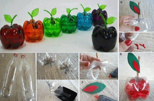 Diy ιδέες για την επαναχρησιμοποίηση πλαστικών μπουκαλιών11