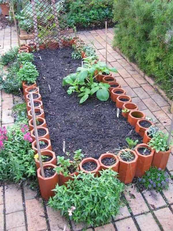 Ιδέες για παρτεράκια στον Κήπο5