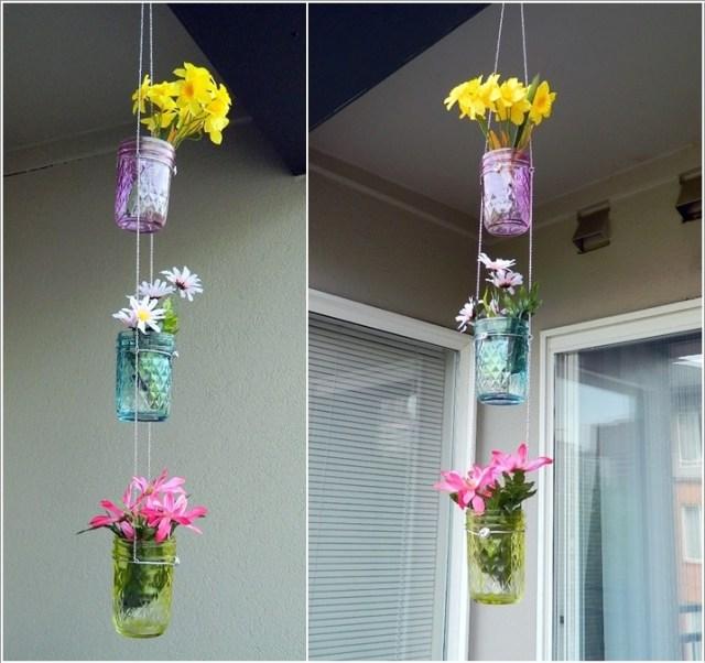 DIY ιδέες για κρεμαστές γλάστρες9