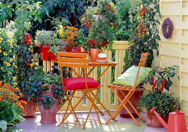 σχεδιαστικές ιδέες μπαλκονιού με φυτά6