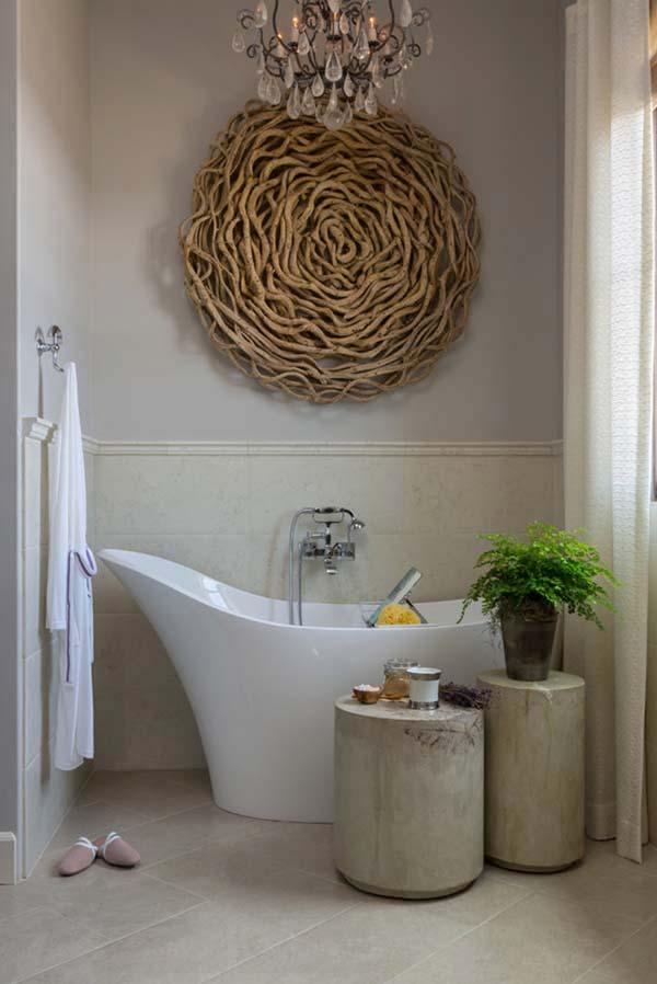 DIY ιδέες διακόσμησης με θαλασσόξυλα27