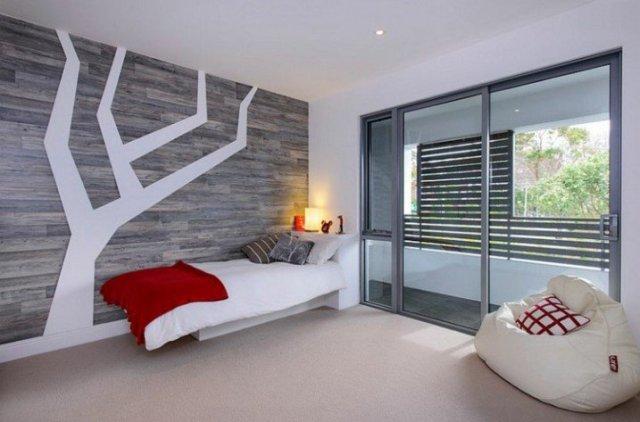 Παιδικά υπνοδωμάτια με ενδιαφέρουσες ιδέες διακόσμησης τοίχου4