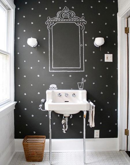 Τοίχοι μαυροπίνακας σαν τέχνη4