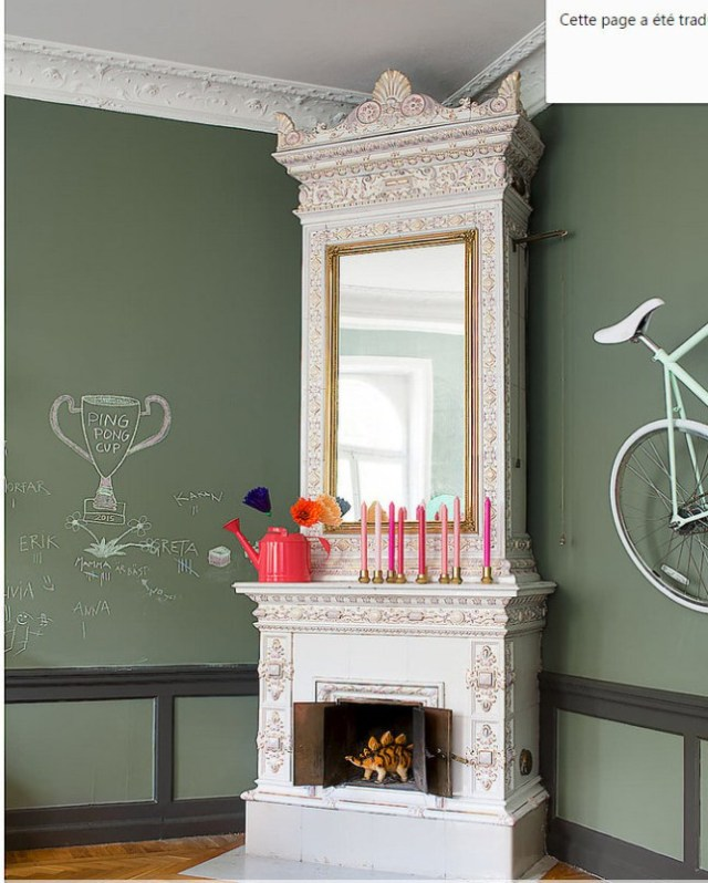 Έντονα χρώματα σε ένα καταπληκτικό σκανδιναβικό διαμέρισμα13
