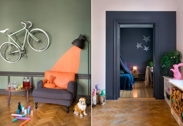 Έντονα χρώματα σε ένα καταπληκτικό σκανδιναβικό διαμέρισμα14