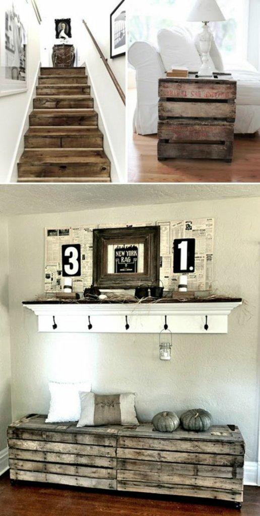 Ιδέες με ξύλινες παλέτες101
