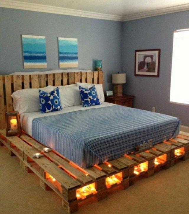 Ιδέες με ξύλινες παλέτες108