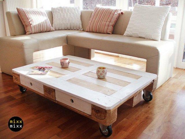 Ιδέες με ξύλινες παλέτες13