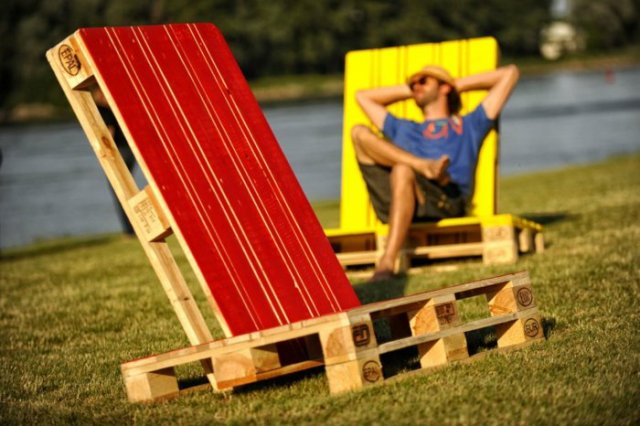 Ιδέες με ξύλινες παλέτες30