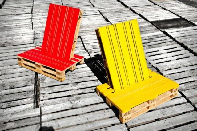 Ιδέες με ξύλινες παλέτες31