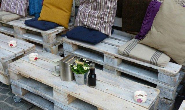Ιδέες με ξύλινες παλέτες41
