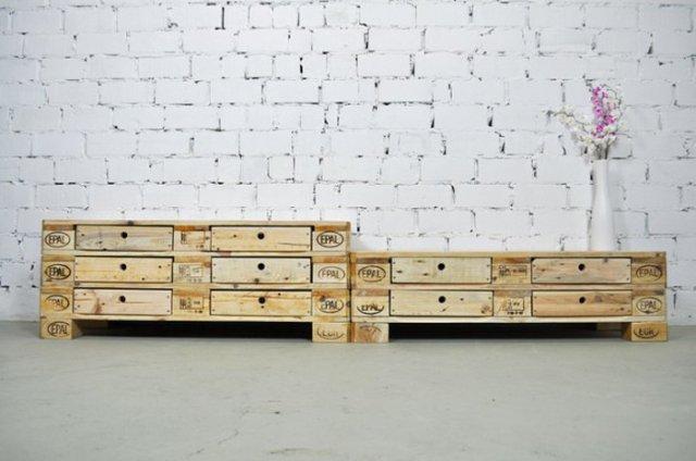 Ιδέες με ξύλινες παλέτες51