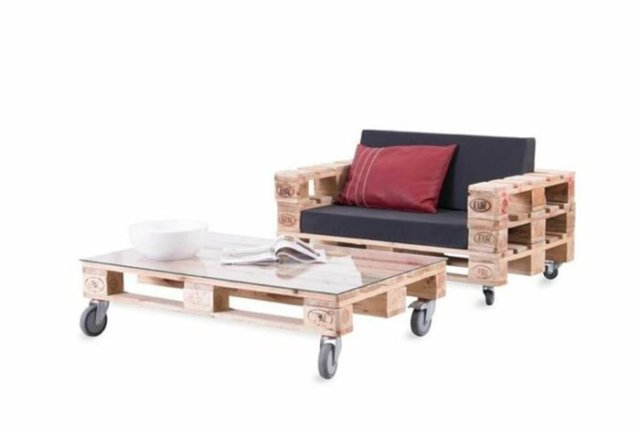 Ιδέες με ξύλινες παλέτες52