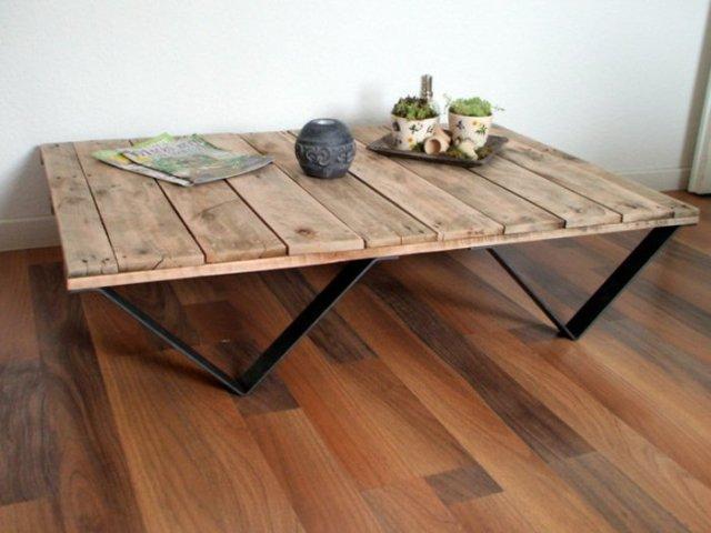 Ιδέες με ξύλινες παλέτες66
