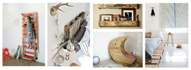 Ιδέες με ξύλινες παλέτες80