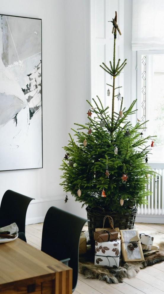 Μινιμαλιστικές ιδέες Χριστουγεννιάτικου δέντρου11