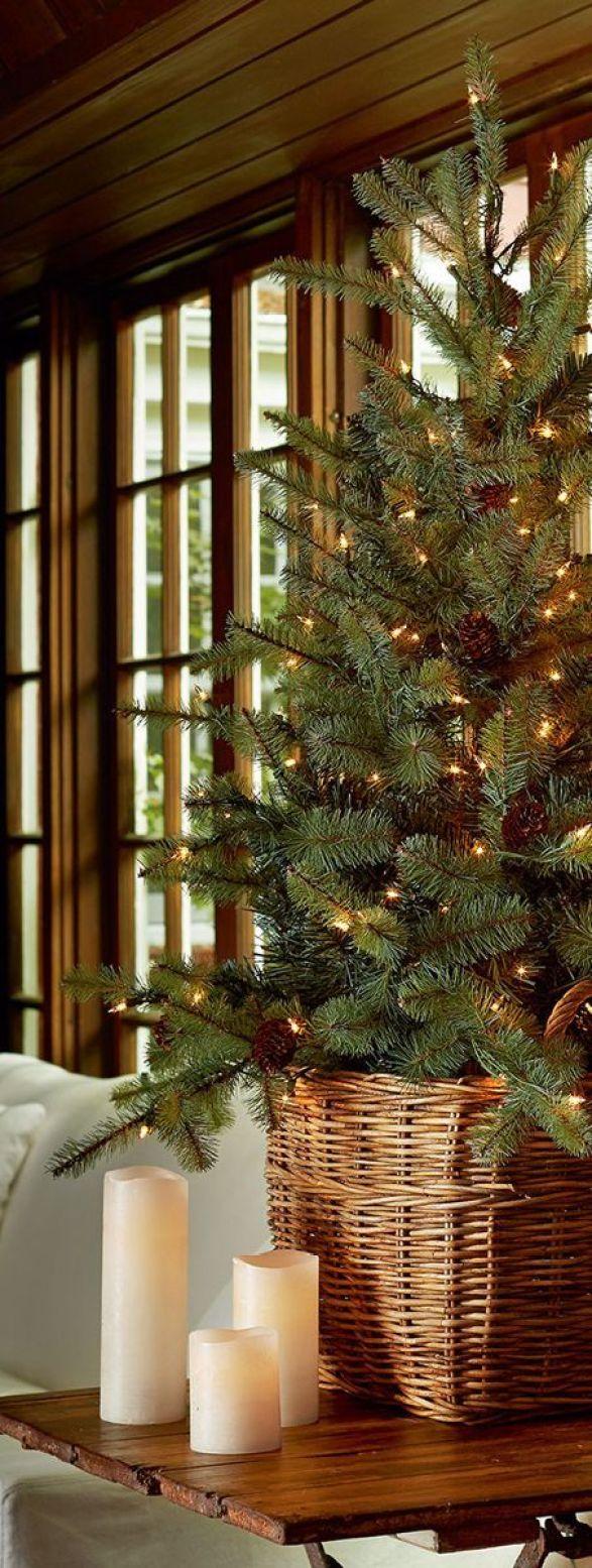 Μινιμαλιστικές ιδέες Χριστουγεννιάτικου δέντρου18