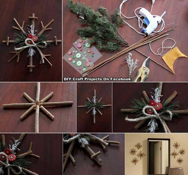 DIY Χριστουγεννιάτικες διακοσμήσεις6