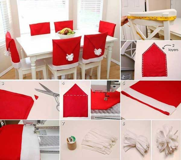 DIY Χριστουγεννιάτικες διακοσμήσεις8