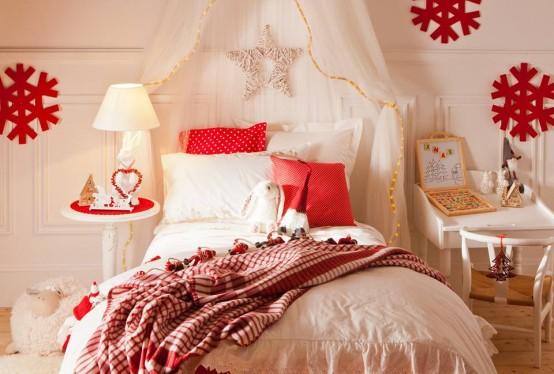 χριστουγεννιάτικες ιδέες διακόσμησης για τα δωμάτια των παιδιών1