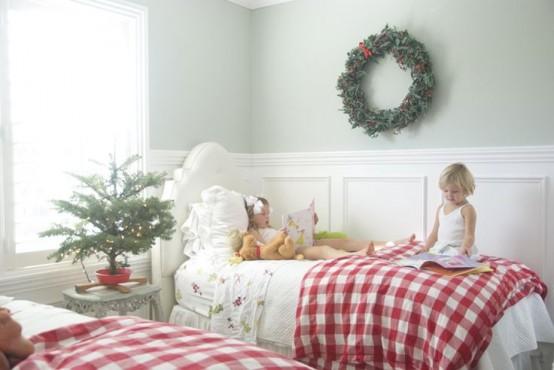 χριστουγεννιάτικες ιδέες διακόσμησης για τα δωμάτια των παιδιών15