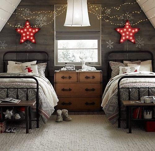 χριστουγεννιάτικες ιδέες διακόσμησης για τα δωμάτια των παιδιών16