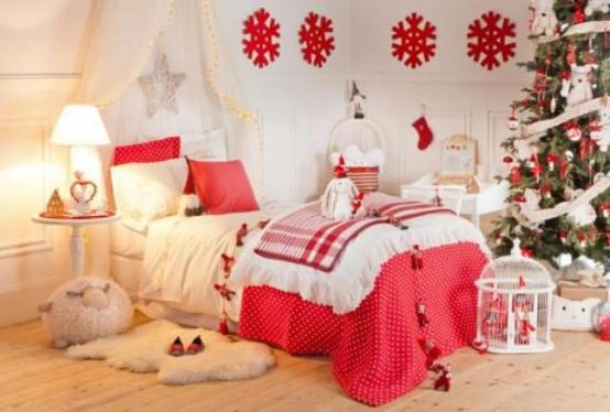 χριστουγεννιάτικες ιδέες διακόσμησης για τα δωμάτια των παιδιών2