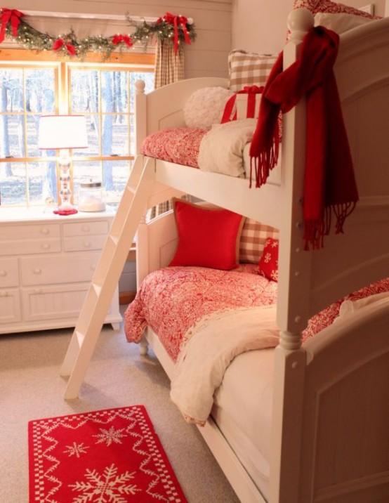 χριστουγεννιάτικες ιδέες διακόσμησης για τα δωμάτια των παιδιών27