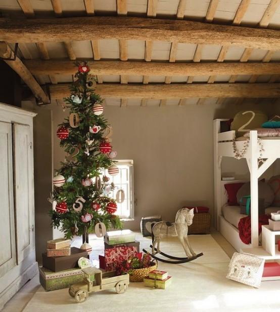 χριστουγεννιάτικες ιδέες διακόσμησης για τα δωμάτια των παιδιών4