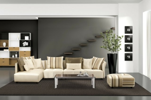 wall decoration ideas in dark shades26