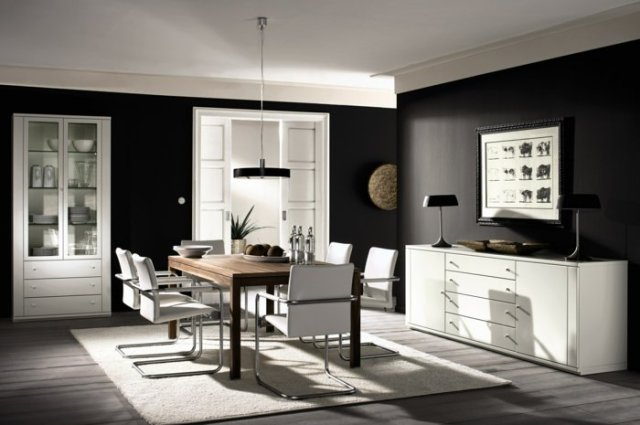 wall decoration ideas in dark shades29