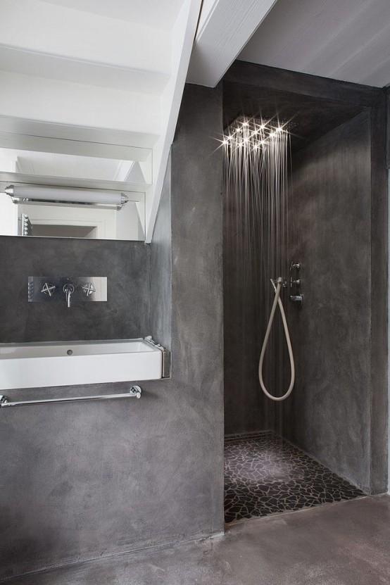 Μπετόν στο μπάνιο ιδέες16