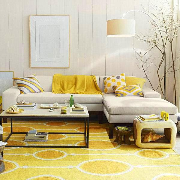 ιδέες διακόσμησης με κίτρινο13