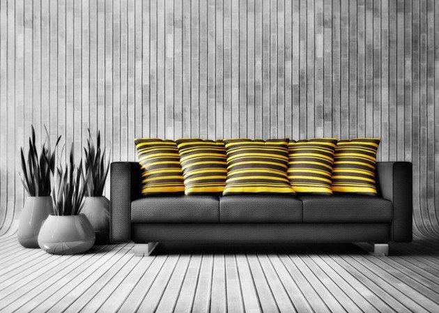 ιδέες διακόσμησης με κίτρινο5