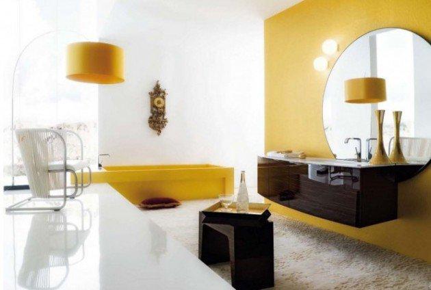ιδέες διακόσμησης με κίτρινο7