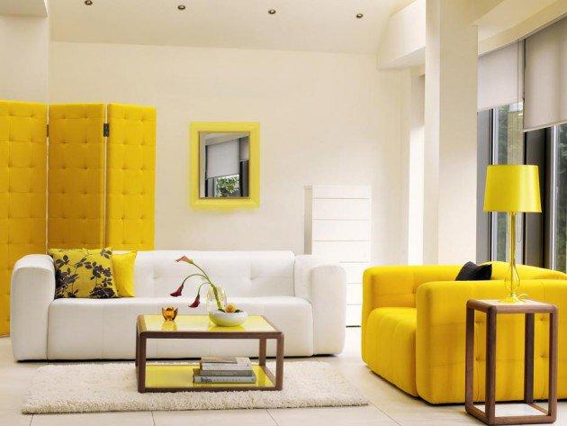 ιδέες διακόσμησης με κίτρινο8