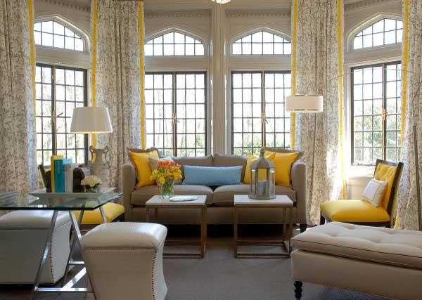 ιδέες διακόσμησης με κίτρινο9