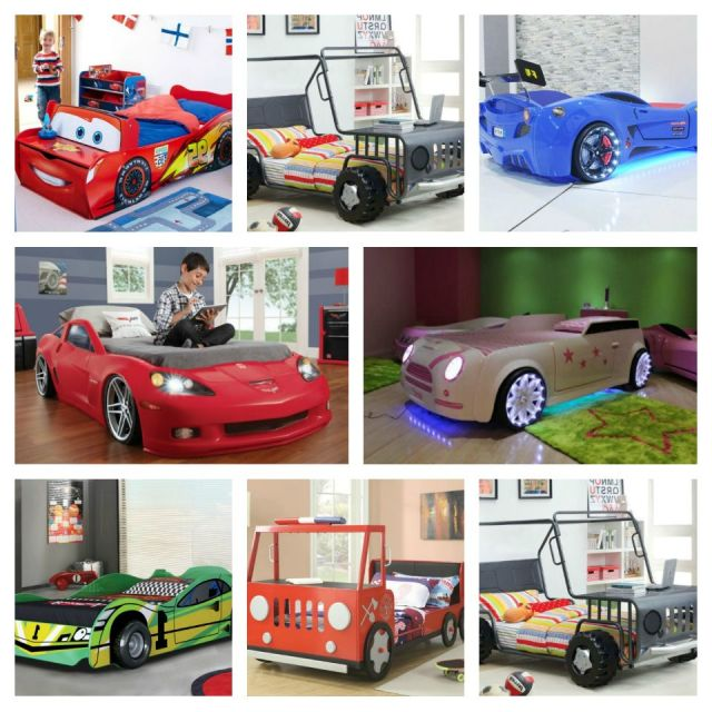 Car beds for your child's room