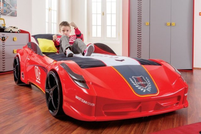 Car beds for your child's room32
