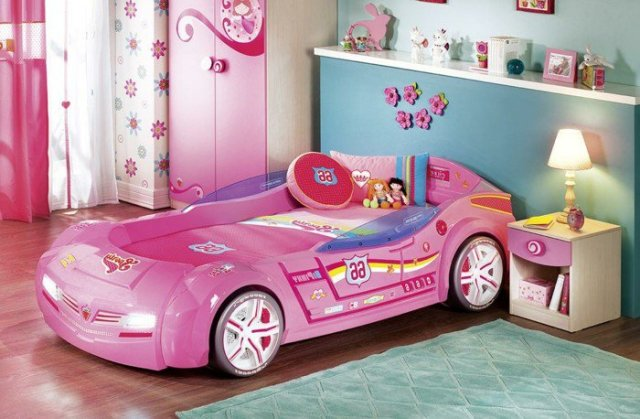 Car beds for your child's room36