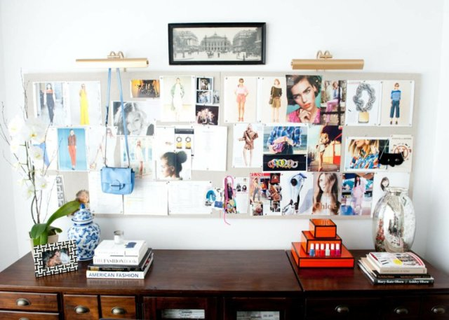 creative ideas to display pictures19