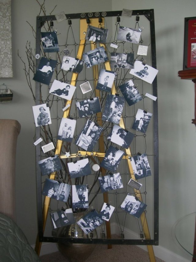 creative ideas to display pictures22